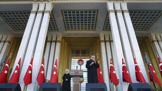 Recep Tayyip Erdogan hier à Ankara.