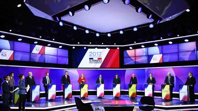 L'attentat est survenu pendant le dernier grand oral télévisé des candidats à la présidentielle.