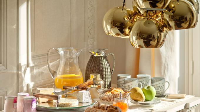 Un petit-déjeuner royal. © Valienne