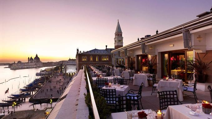 La lagune de Venise depuis le rooftop du Danieli Excelsior. (Danieli Excelsior)