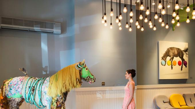 Les 9 000 étudiants du Savannah College of Art and Design apportent vie et fraîcheur à la ville.