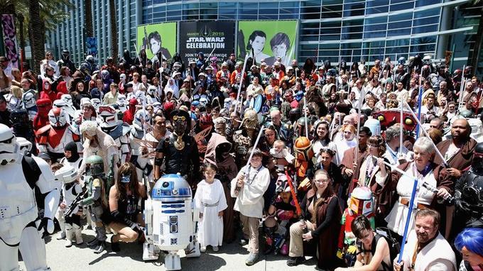 Star Wars Day en 2016.
