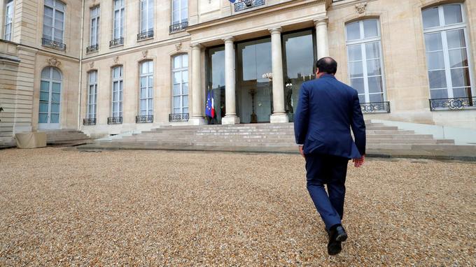 François Hollande, à l'Élysée, le 3 mai.