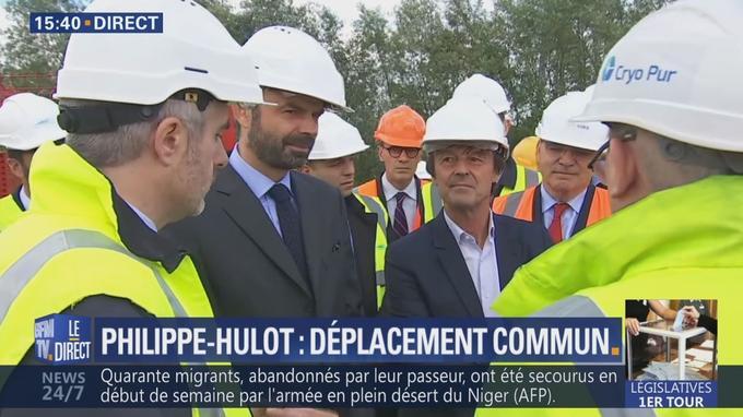 Le premier ministre et le ministre de la Transition écologique effectuent un déplacement commun, vendredi.