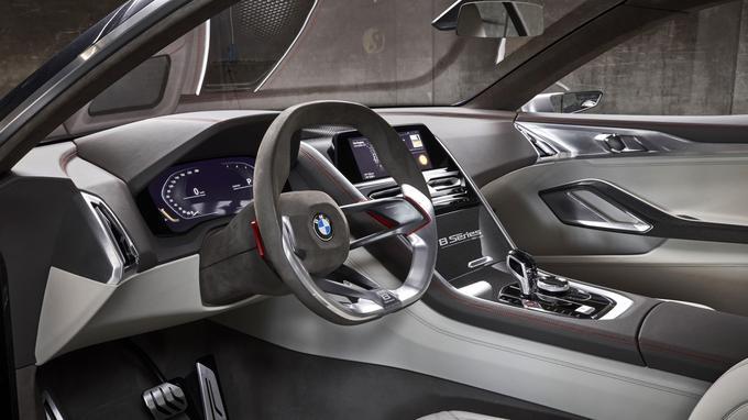 BMW revient à une approche assez classique en termes d'ergonomie.