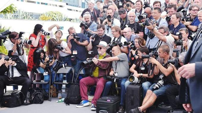 Pedro Almodovar, le président du Jury, lors du photocall officiel du Festival de Cannes 2017.Crédits photo: Pascal Le Segretain/ Getty Images
