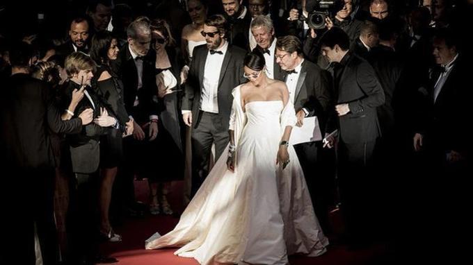 La chanteuse Rihanna, à Cannes.Crédits photo: Tristan Fewings/ French Select
