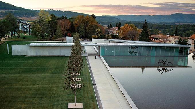 Le centre d'art a été conçu par le japonais Tadao Ando. © Simon-Schwyzer