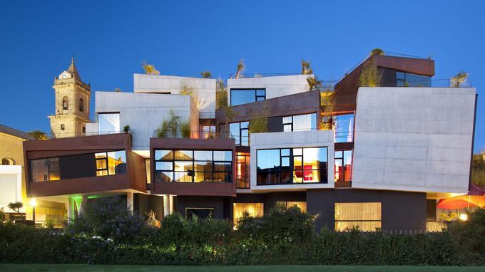 L'hôtel Viura, dans la Rioja, en Espagne. © DR