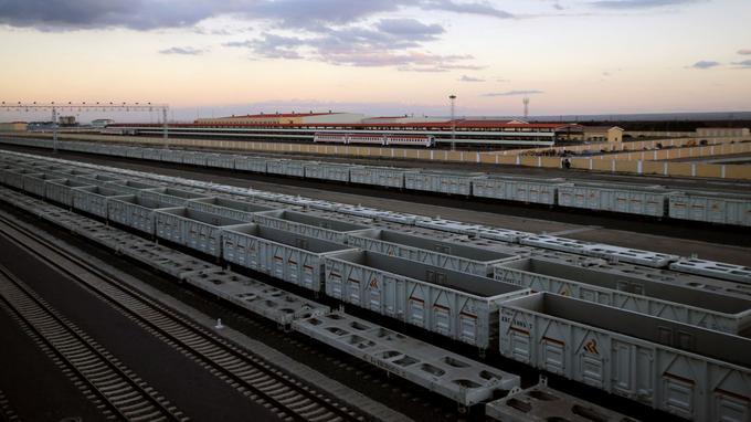 Vue générale du terminal accueillant le Standard Gauge Railway (SRG) à Nairobi.