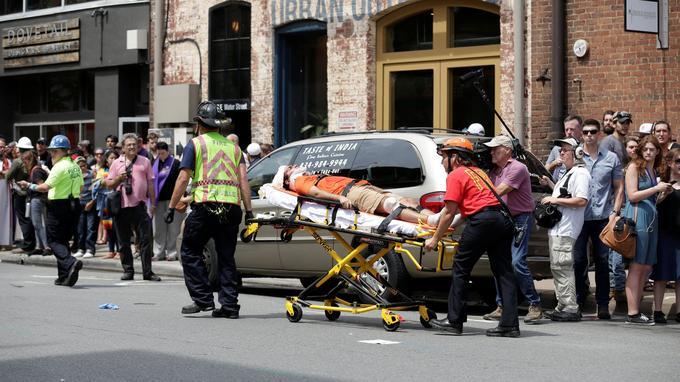 L'attaque de Charlottesville a fait 1 mort et 19 blessés, le 12 août 2017.