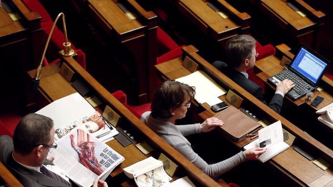 Chaque siège est numéroté et attribué à un(e) député(e).