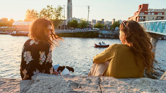 Au bord du canal de Lachine. © TM