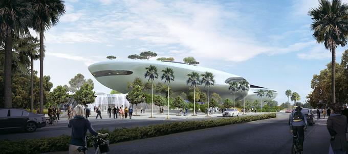 Le musée des arts narratifs devrait aussi accueillir restaurants, cafés et salles de lectures.