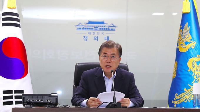 Le président sud-coréen Moon Jae-in a convoqué ce mardi une réunion du conseil de sécurité nationale.