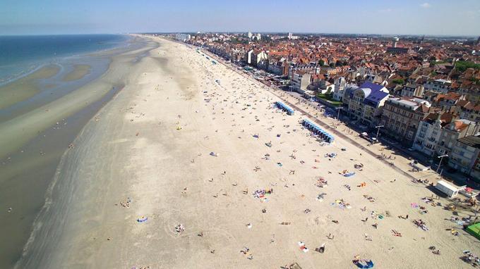 La plage de Malo-les-Bains. ©Studio Mallevaey