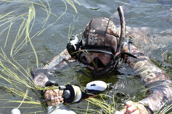 Vladimir Poutine a également fait de la plongée sous-marine.