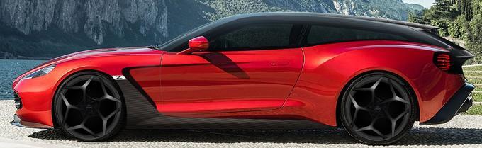 Aston Martin et Zagato ont révélé une première esquisse du Shooting Brake qui sera présenté l'an prochain.