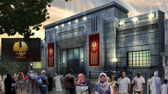 La franchise Hunger Games sera à l'honneur. Crédit photo: capture d'écran Motiongatedubai