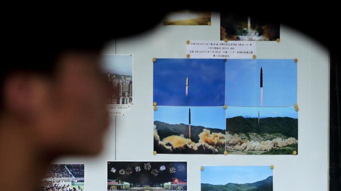 La Corée du Nord a procédé en juillet à deux essais réussis d'un missile balistique intercontinental ou ICBM.