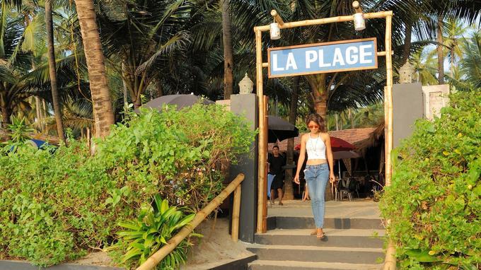 Un des restaurants les plus branchés de Goa. © O Roques Rogery pour le Figaro Magazine