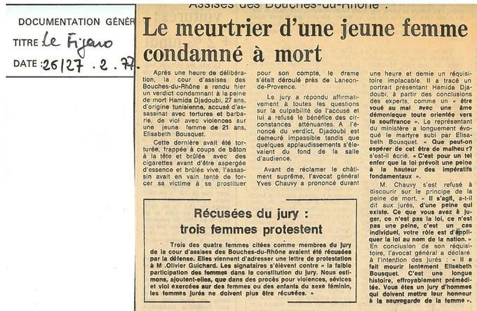 Archies du Figaro, 26-27 février 1977.