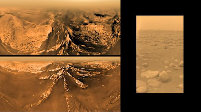 Date de publication originale: 4 Mai 2006 (à gauche) - 15 janvier 2015 (à droite) <i>(Crédits: ESA/NASA/JPL/University of Arizona)</i>