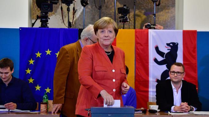Angela Merkel, ce dimanche.