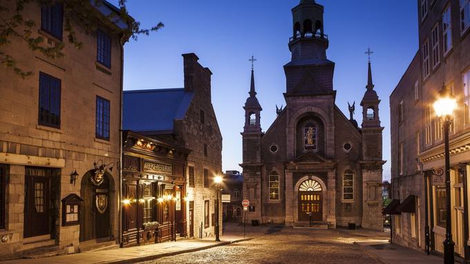 Notre Dame du Bon Secours, dans le vieux Montréal: Cohen l'évoque dans «Suzanne». © Tourisme Montréal, Mathieu Dupuis