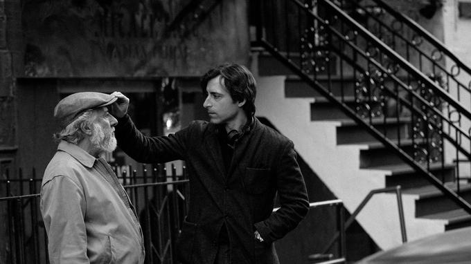Dustin Hoffman et Noah Baumbach.
