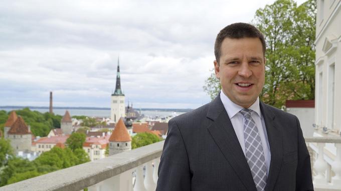 Juri Ratas a été désigné à 38 ans premier ministre de l'Estonie en novembre 2016.