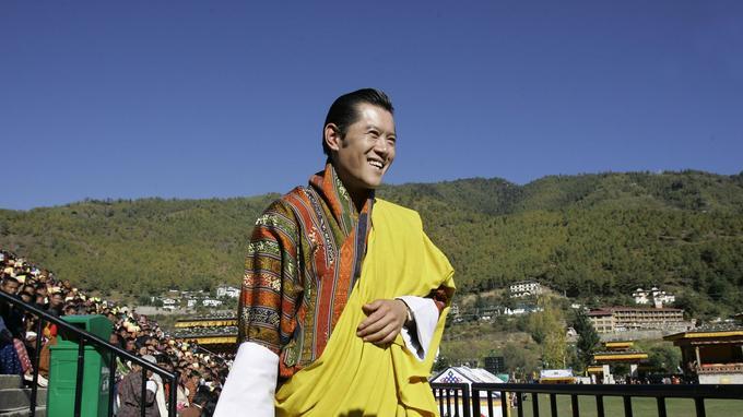 Le cinquième «roi-dragon» du Bhoutan, la «Terre du Dragon tonnerre», est le plus jeune souverain au monde.