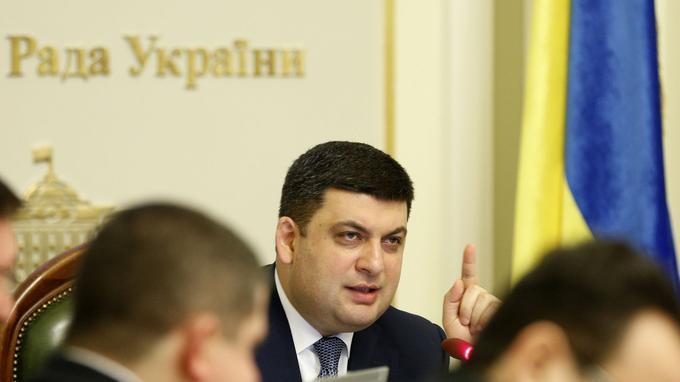 Volodomyr Groïsman, 38 ans, est le plus jeune premier ministre d'Ukraine.
