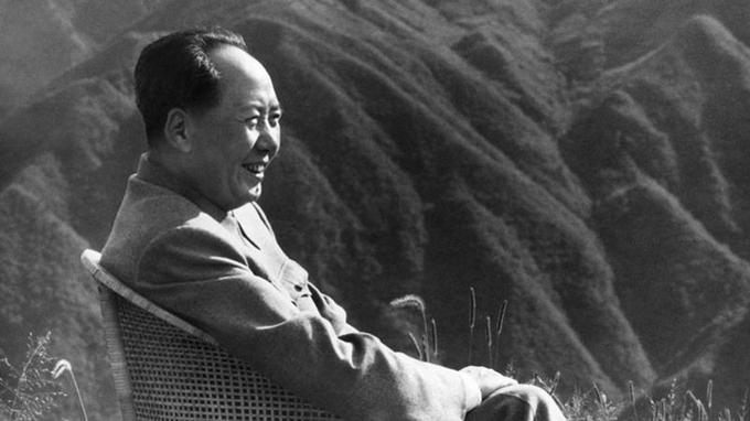 Mao Tsé-toung, en 1961. <i>Crédits Photo: XINHUA/AFP</i>