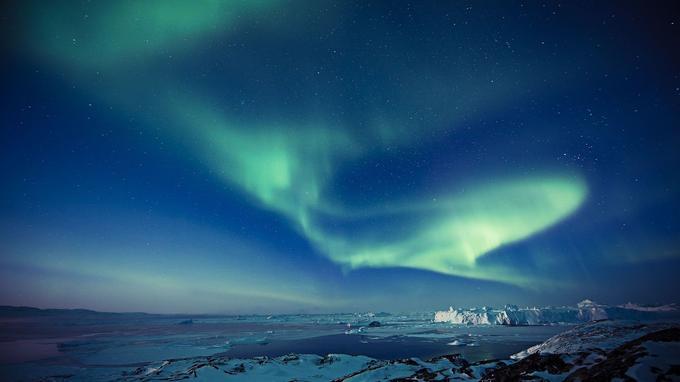 Au Groenland, la nature assure un spectacle extraordinaire. © Andre Schoenherr / VisitGreenland