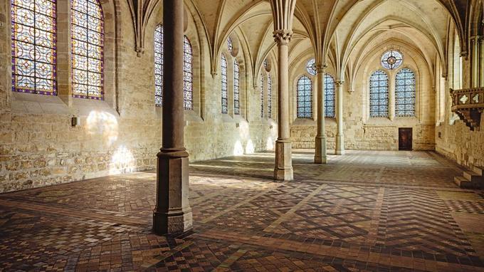 Le réfectoire des moines. © Jerome Galland