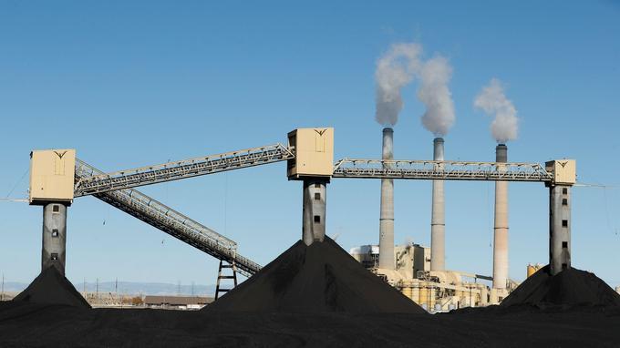 Une usine de charbon dans l'Utah. En matière énergétique, Donald Trump a promis d'aider ce secteur, que Barack Obama souhaitait limiter.