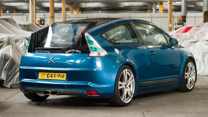C4 coupé R-PUR (concept Sbarro pour salons, 2005).