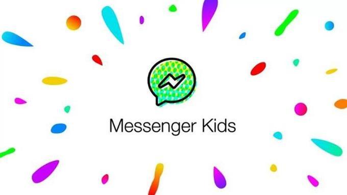 L'application Messenger Kids.