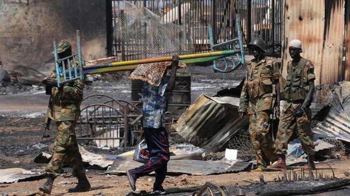 L'armée soudanaise à Juba - Crédit Photo / AFP