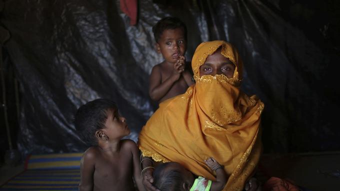 Cette mère de six enfants dit avoir été violée par l'armée birmane en août 2017.