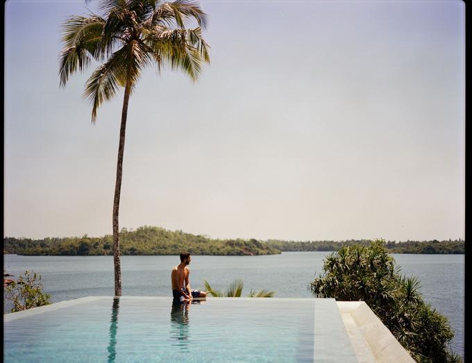 Au bord du Koggala Lake, au Sri Lanka, «un dépaysement total».