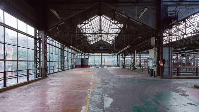Le Kanal-Centre Pompidou s'installera à partir de 2022, dans les 37.000 mètres carrés de verre et d'architecture métallique de l'ancien garage Citroën de Bruxelles.