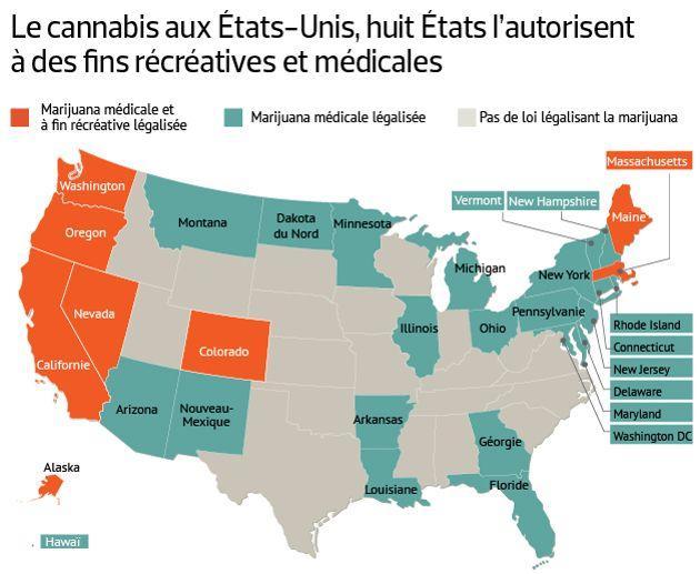 Aux Etats Unis Le Business Du Cannabis Legalise En Plein Essor