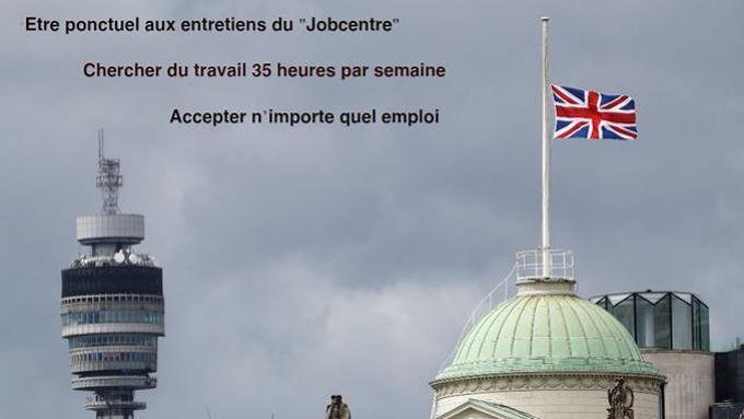 Au Royaume-Uni, les chômeurs doivent chercher du travail 35 heures par semaine.