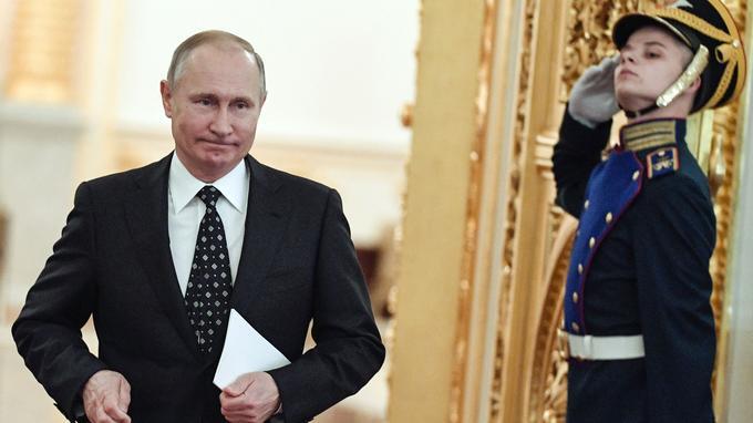 Vladimir Poutine.