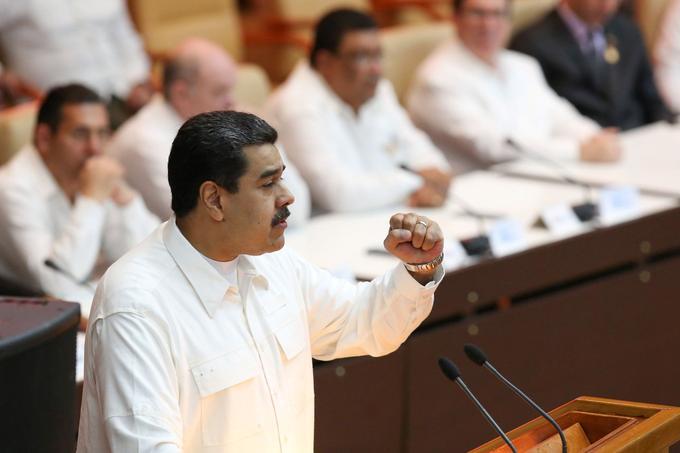 Nicolas Maduro, en décembre 2017.
