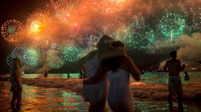 Et enfin Rio, les pieds dans l'eau et beaucoup d'amour.