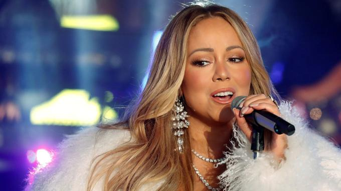 À nouveau New York avec Mariah Carey.