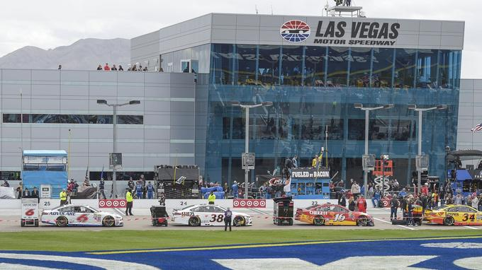 Le Las Vegas Motor Speedway.